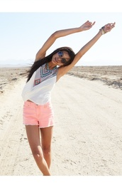 shorts,light pink shorts,pink,light pink,cut off shorts,High waisted shorts,summer,pastel short,t-shirt,blouse