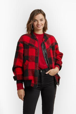Brenda Quilted Bomber