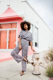 style me grasie,blogger,jumpsuit,shoes,pumps,spring outfits