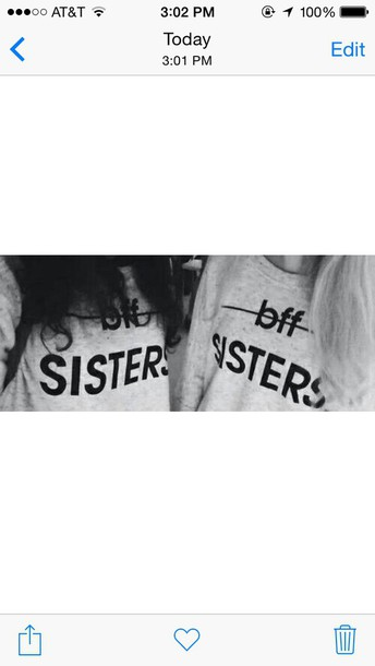 shirt bestfriend shirt sisters