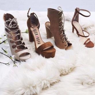 shoes sandals high heel sandals beige