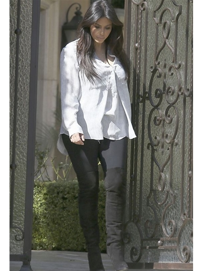 LnA Olivia Leggings as Seen On Kim Kardashian