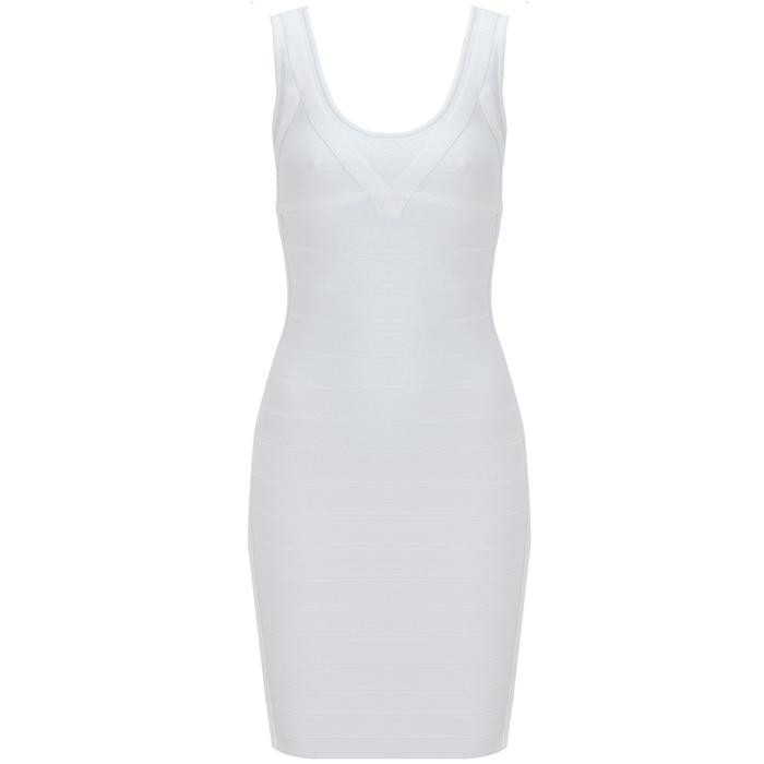 Sexy Preppy Bandage Tank Dress