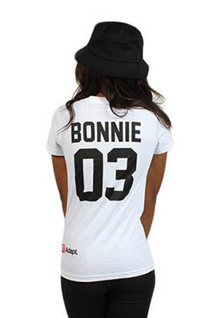 Adapt Advancers — Breezy Excursion X Adapt :: Down To Ride (Bonnie) (Women's White Tee)