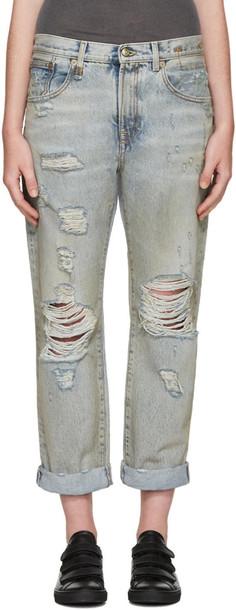 R13 jeans blue