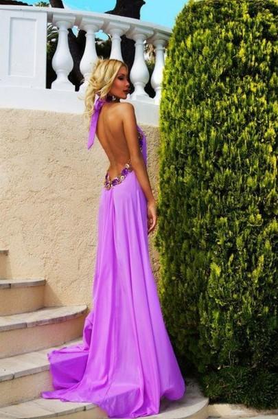 dress purple purple dress backless backless dress open back open back dresses gown long gown backless purple bridesmaid dresses maxi dress open backless maxi maxi