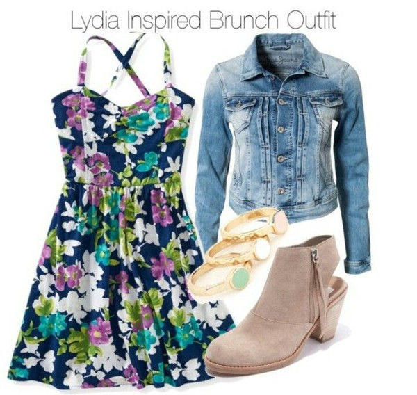 musthave lydia martin floral dress