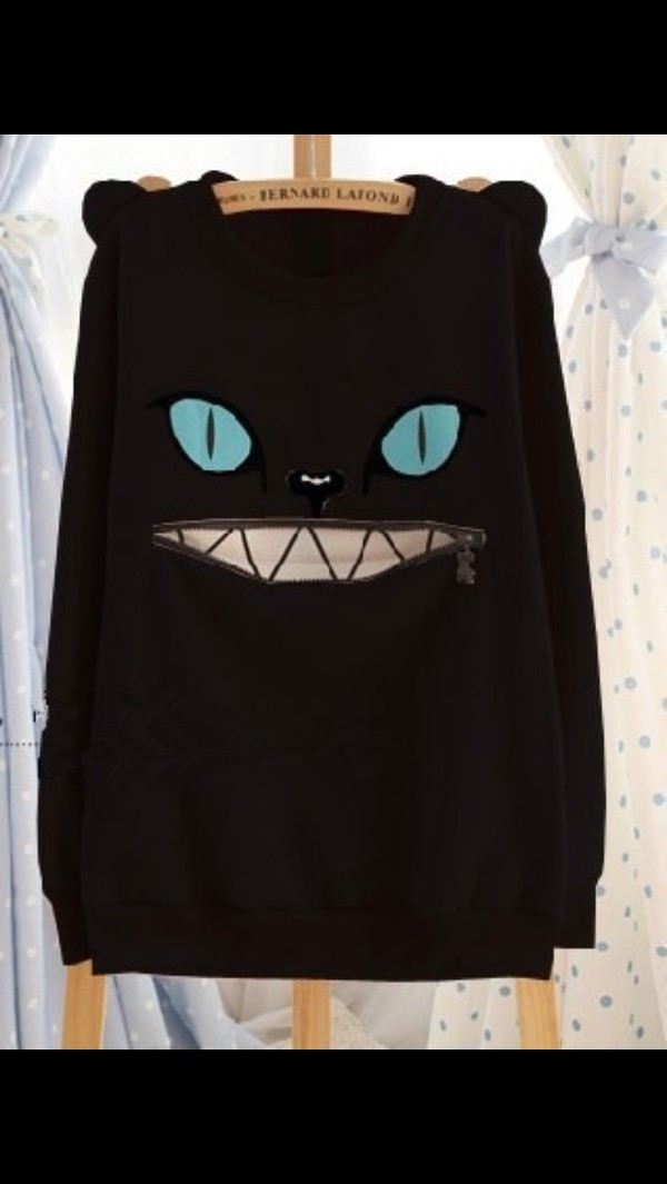 cats grunge cat sweater