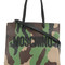 Moschino - camouflage logo tote - women - leather - one size, leather