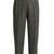 High-waisted herringbone-tweed cropped trousers