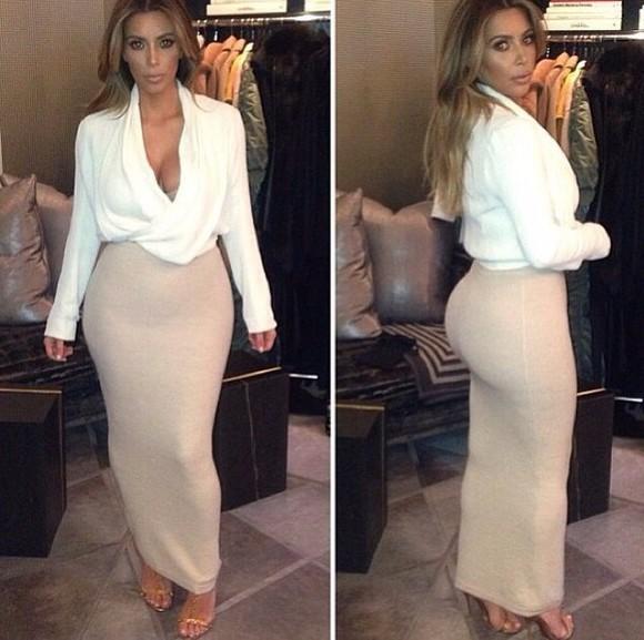 top white white top fashion skirt style kim kardashian celebrity style sexy