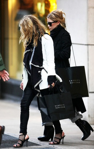 shoes sandals mesh ashley olsen mary kate olsen olsen sisters jacket