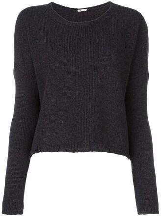 jumper women grey sweater