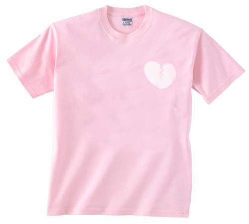 heart light pink T-Shirt - Basic tees shop