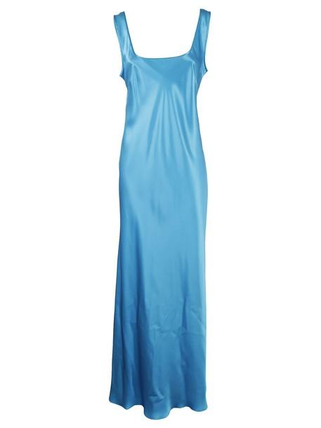 dress long dress long classic blue