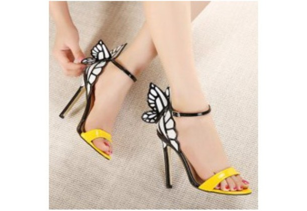 Pretty White High Heel Sandals - Shop for Pretty White High Heel ...