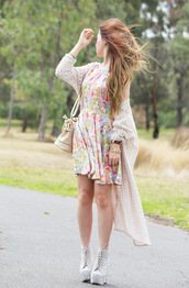 chloe ting,dress,sweater,bag,shoes,jewels