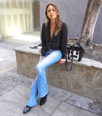 croptopia blogger shirt jeans shoes bag