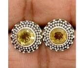 jewels,handmade jewelry,gemstone,studs,sterling silver studs,gemstone studs