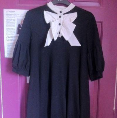 Zara tuxedo dress size m