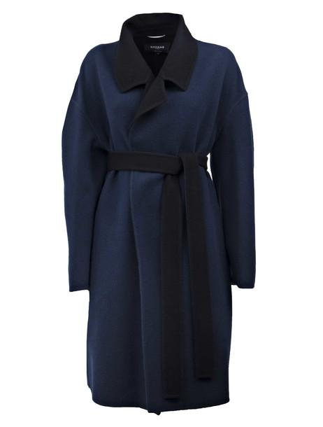 Rochas coat blue