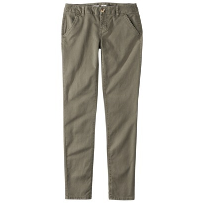 Mossimo Supply Co. Juniors Skinny Chino Pant - A... : Target