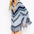 Aliexpress.com : Buy Long Batwing Sleeve Scoop Collar Striped Tassels Cape Women Pullover Sweater from Reliable pullover dress suppliers on SureFavor Store