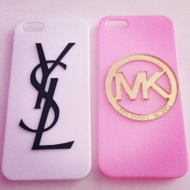 jewels iphone case michael kors ysl phone cover pink. Black Bedroom Furniture Sets. Home Design Ideas