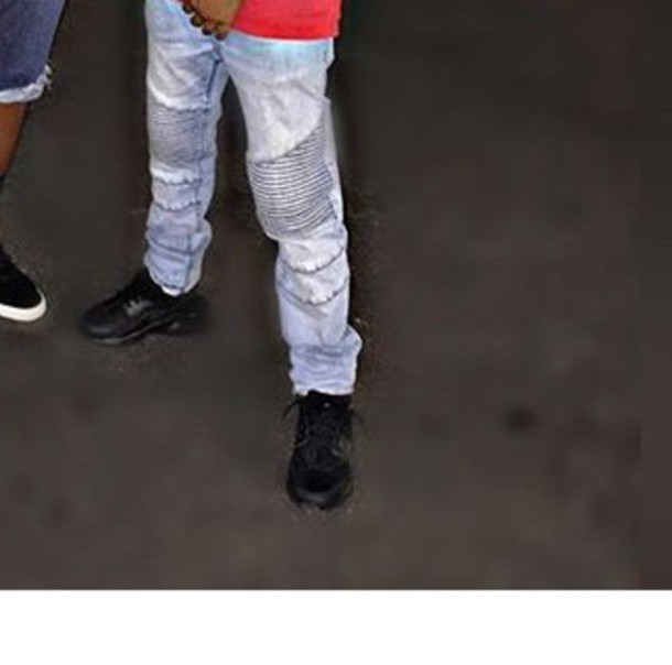 jeans denim denim pants pants black huarache mens jeans