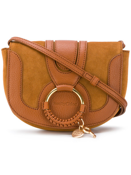 See by Chloe women bag leather cotton brown