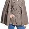Olivia palermo   chelsea28 suede trench vest with removable cape | nordstrom