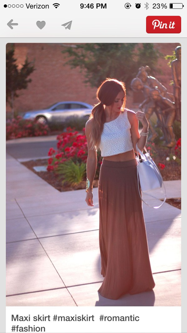 skirt maxi skirt neutral colors