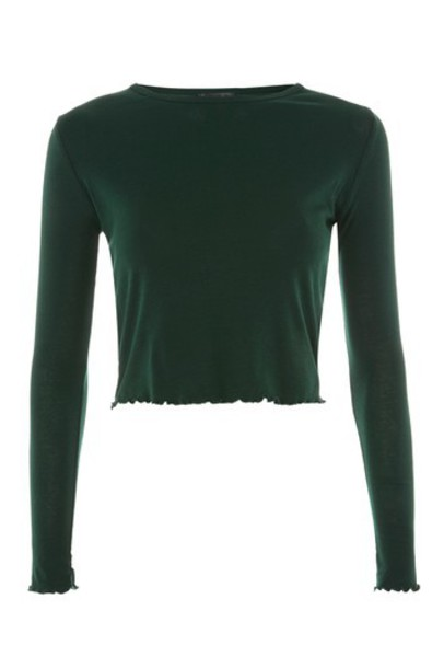 Topshop top long forest
