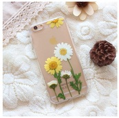 phone cover,girly,iphone,flowers