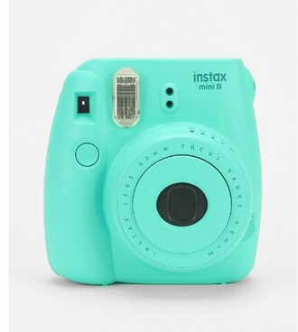 aqua photography technology turquoise nail accessories bag home accessory phone cover fujifilm instagram camera tumblr polaroid camera turqoise belt gift ideas blue cute mint