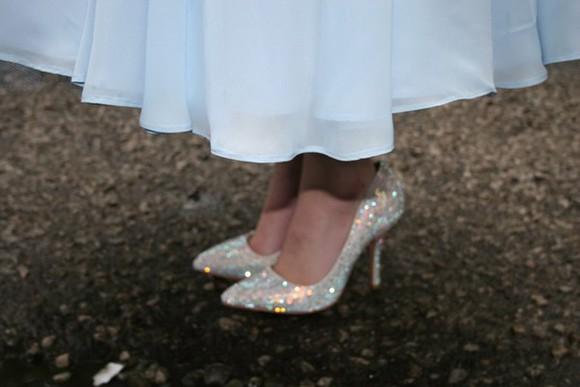 cinderella swarovski crystals sparkly princess shoes sparkly heels