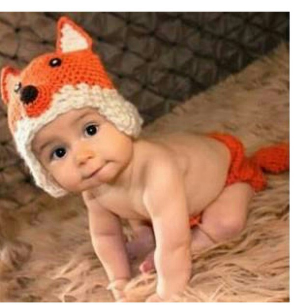 top baby fox holloween costume