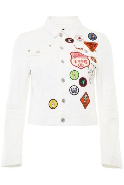 Dsquared2 jacket denim jacket denim
