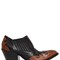 50mm cowboy pull on leather ankle boots