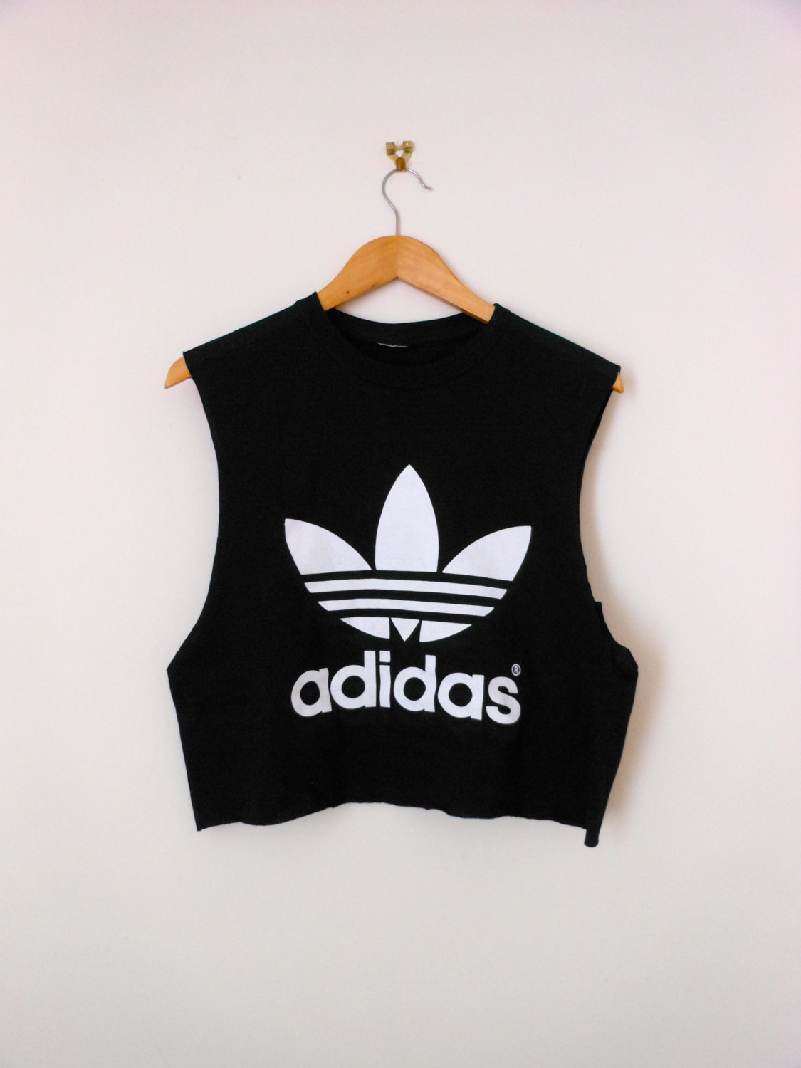 classic back adidas swag style vest crop top tshirt fresh boss dope ...