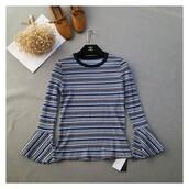 dress,long sleeves,summer,scoop neck,stripped swimwear,it girl shop