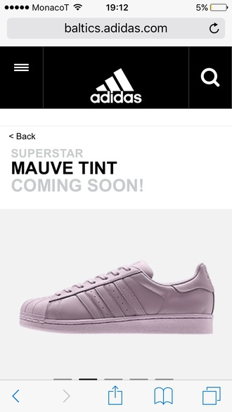 shoes adidas originals adidas superstars purple