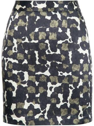 skirt camouflage black