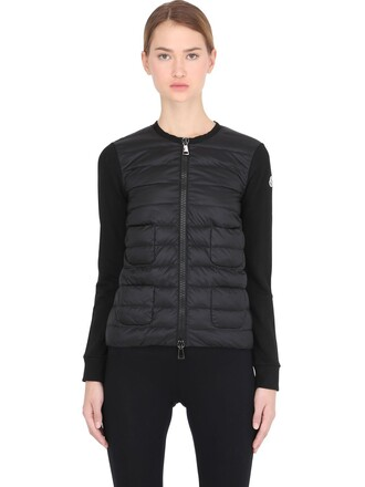 jacket quilted cotton black