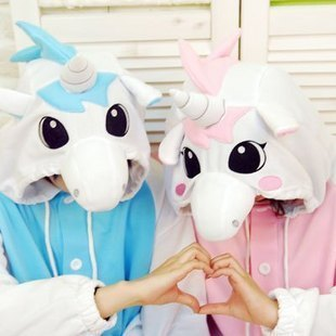 Adult Kigurumi Pajamas Cosplay Costume Sleepwear Jumpsuits Animal Unicorn Onesie Pyjamas-inPajama Sets from Apparel & Accessories on Aliexpress.com