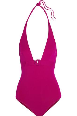 magenta swimwear