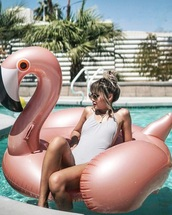 home accessory,rose gold flamingo,pink flamingo inflatable