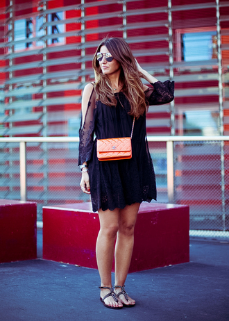 lovely pepa blogger dress shoes bag sunglasses jewels