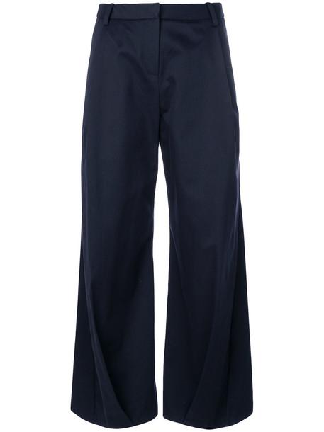 Palmer / Harding culottes women classic cotton blue pants