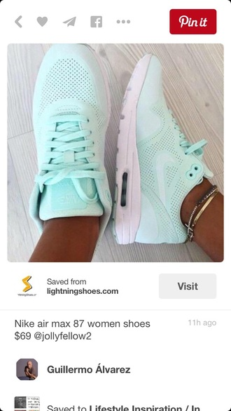 shoes mint excercise air max